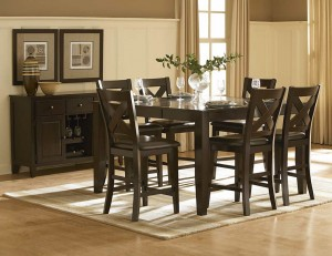 The Crown Point Counter Height Dining Group